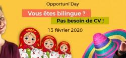 Vous êtes bilingue ? Rejoignez-nous !