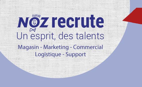 f69a262cb1b Site recrutement de NOZ - Offres emplois partout en France